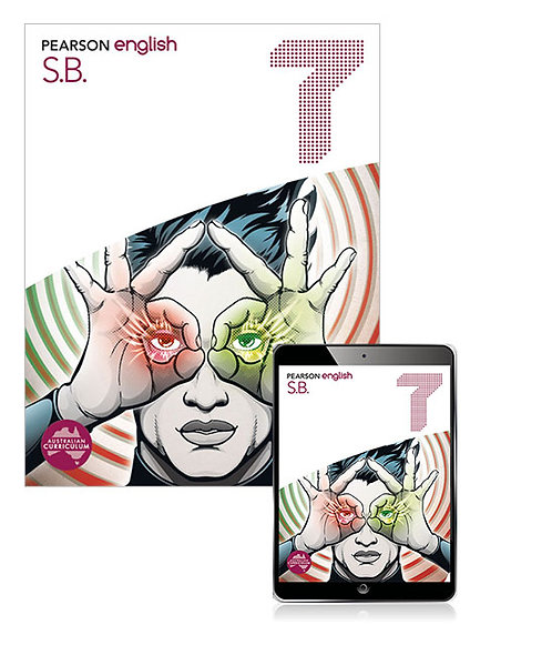 Pearson English 7 Student Book with Reader+ 2E (PRINT + DIGITAL)