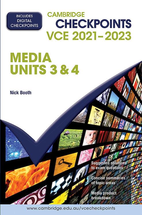 Cambridge Checkpoints VCE Media Units 3&4 2021-2023