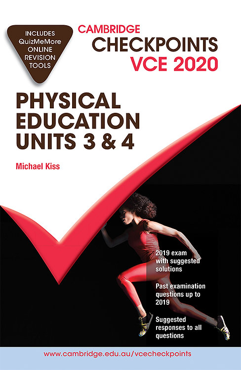 Cambridge Checkpoints VCE Physical Education Units 3&4 2020