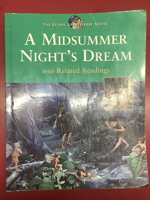 The Global Shakespeare Series A Midsummer Night's Dream (SECOND HAND)
