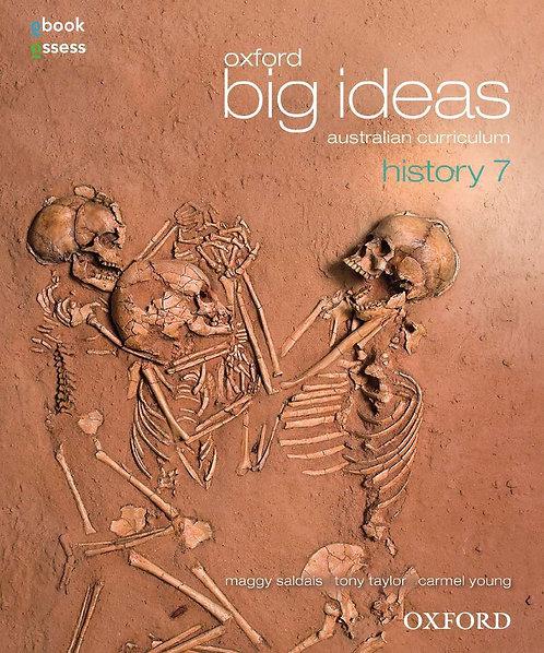 Oxford Big Ideas History 7 AC Student book + obook assess (PRINT + DIGITAL)