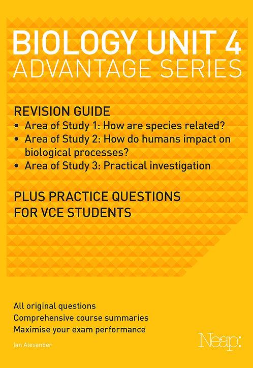 Biology Unit 4 Advantage Series (2017 Ed)