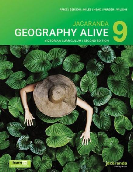 Jacaranda Geography Alive 9 2E Victorian Curriculum (DIGITAL)
