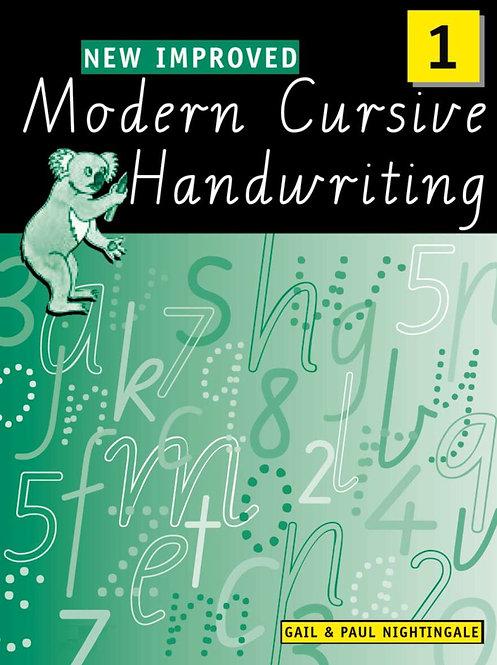 New Improved Modern Cursive Handwriting Victoria Year 1