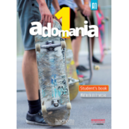 Adomania 1/A1 Textbook English Version and DVD