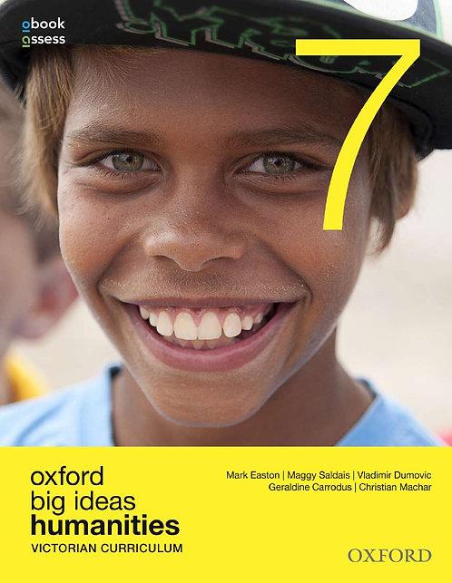 Oxford Big Ideas Humanities 7 Victorian Curriculum + Atlas Value Pack
