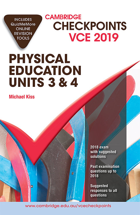 Cambridge Checkpoints VCE Physical Education Units 3&4 2019