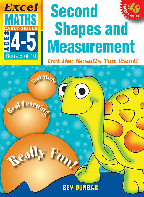 Excel Early Skills: Maths Book 6 Shapes and Measurement