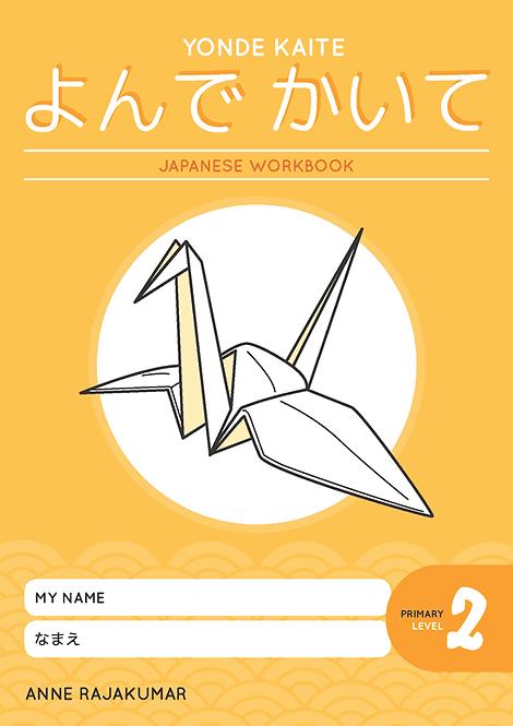 Yonde Kaite Japanese Workbook Primary Level 2