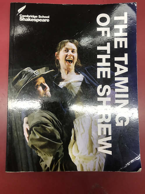 Cambridge School Shakespeare The Taming of the Shrew 3E (SECOND HAND)