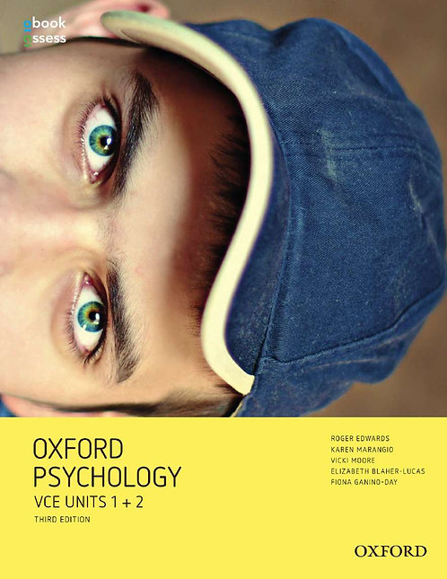 Oxford Psychology Units 1+2 Value Pack 3E (SB + OBK/AS,WB) (PRINT + DIGITAL)