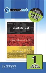 Nelson Modern History Republic to Reich (DIGITAL)