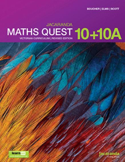 Jacaranda Maths Quest 10&10A Victorian + AssessON Value Pack (PRINT + DIGITAL)