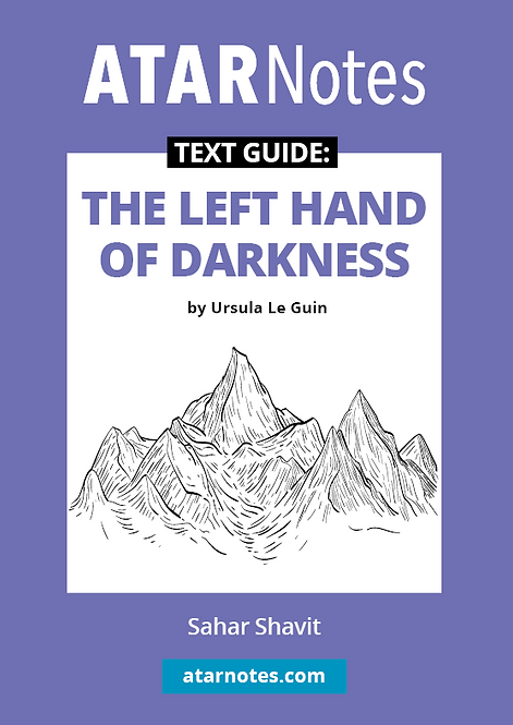 ATARNotes Text Guide: The Left Hand of Darkness