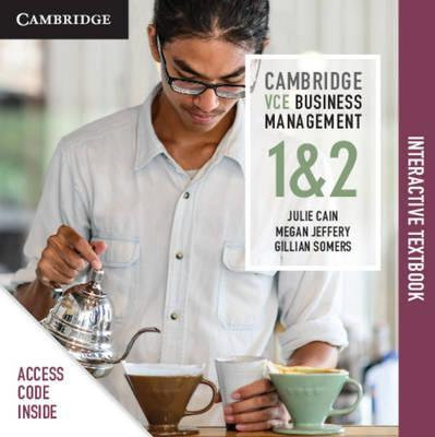 Cambridge VCE Business Management Units 1&2 (DIGITAL)