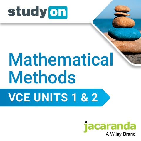 Jacaranda Mathematical Methods StudyOn Units 1&2 (DIGITAL)