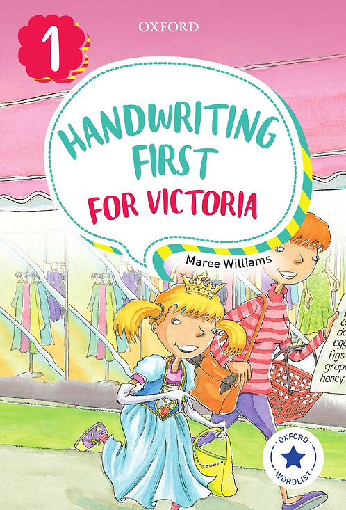 Handwriting First for Victoria Foundation 2E