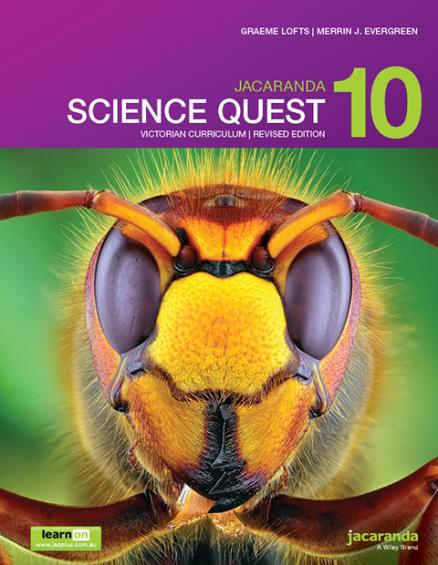 Jacaranda Science Quest 10 Victorian Curriculum Revised (PRINT + DIGITAL)