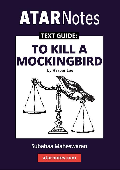 ATARNotes Text Guide: To Kill a Mockingbird