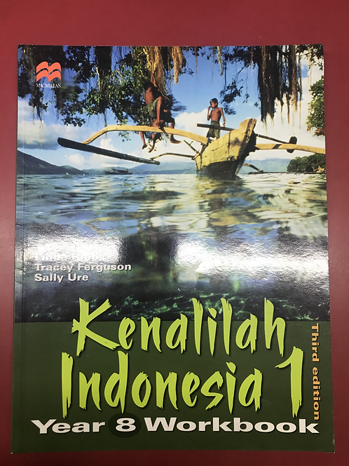 Kenalilah Indonesia 1 Year 8 Workbook 3E (SECOND HAND)
