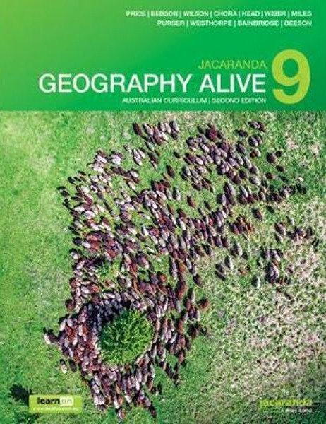 Jacaranda Geography Alive 9 Australian 2E LearnON & Print + Jacaranda Atlas 9E