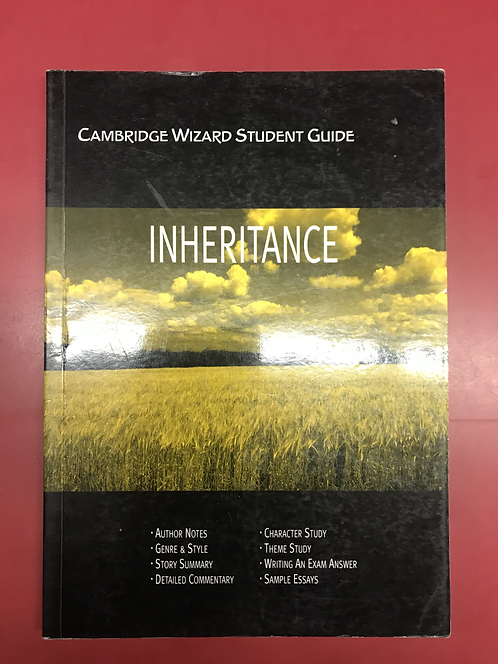 Cambridge Wizard Student Guide: Inheritance (SECOND HAND)