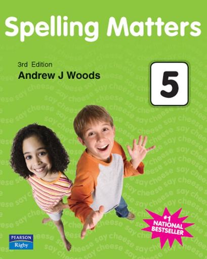 Spelling Matters Year5