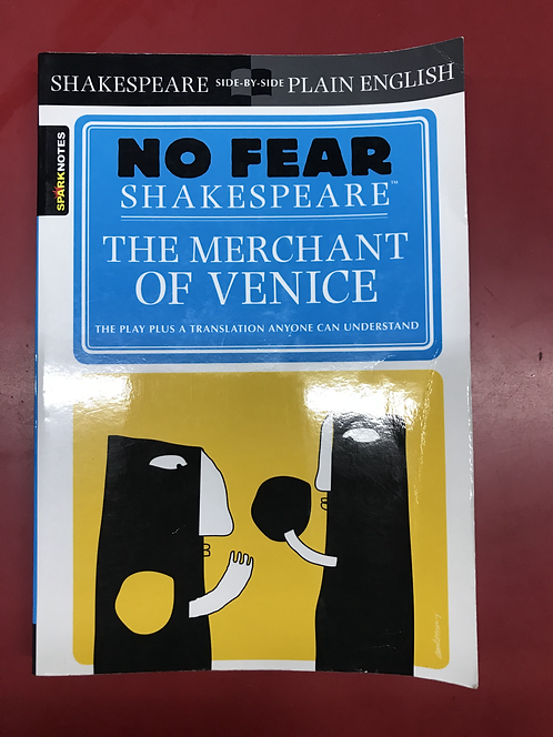 No Fear Shakespeare The Merchant of Venice (SECOND HAND)