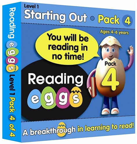 ABC Reading Eggs Level 1 Beginning to Read: Book Pack 4 Years 5-7