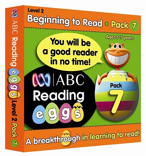 ABC Reading Eggs Level 2 Beginning to Read: Book Pack 7 Years 5-7