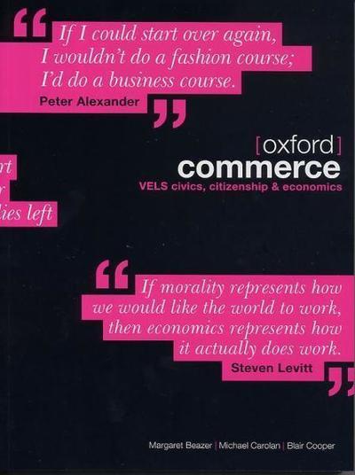Oxford Commerce: Civics, Citizenship and Economics