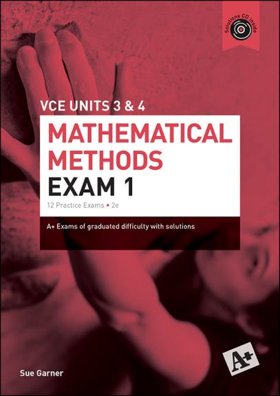 A+ Mathematical Methods Exam 1 VCE Units 3&4 (PRINT)