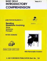 Introductory Comprehension Yrs K to 3 (Basic Skills 124)