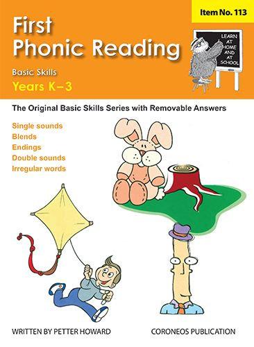 First Phonic Reading Yrs K to 3 (Basic Skills No. 113)