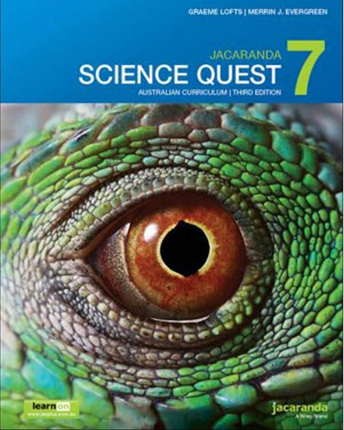 Jacaranda Science Quest 7 Australian 3E & LearnON + AssessON Value Pack