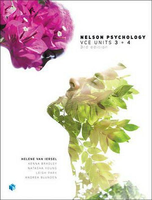 Nelson Psychology VCE Units 3&4 3E (PRINT + DIGITAL)