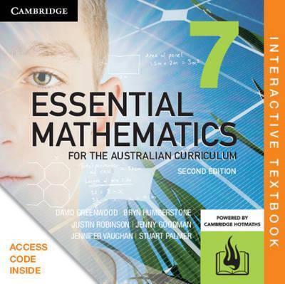 Essential Mathematics for the Australian 7 2E Interactive Text (DIGITAL)