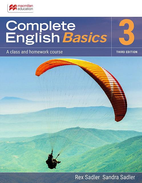 Complete English Basics 3 3E (PRINT + DIGITAL)