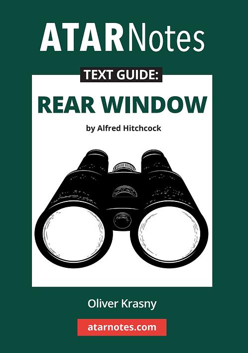ATARNotes Text Guide: Rear Window