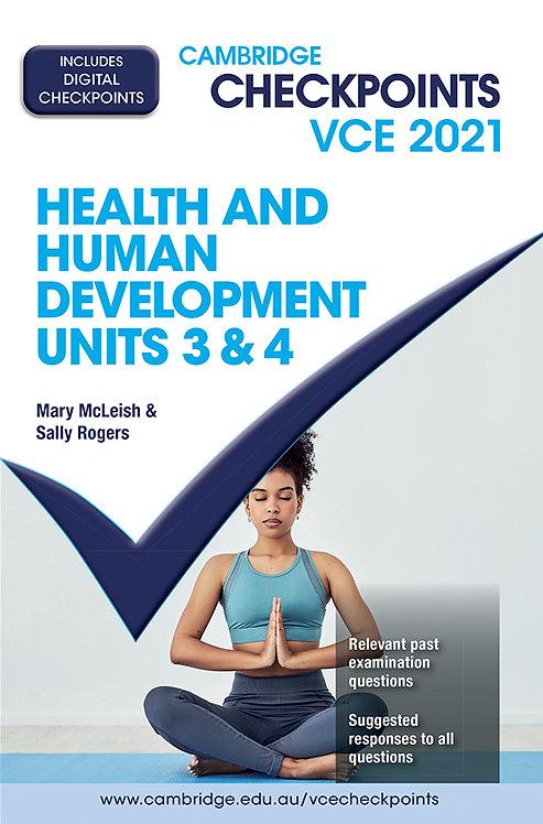 Cambridge Checkpoints VCE Health & Human Development Units 3&4 2021