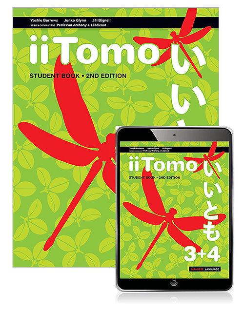 iiTomo 3+4 Student Book with Reader+ 2E (PRINT + DIGITAL)