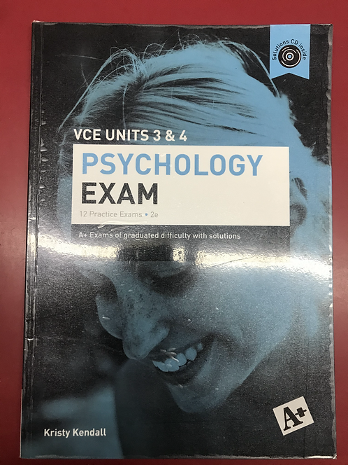 A+ Psychology ExamUnits 3&4 2E (SECOND HAND)
