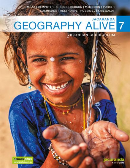 Jacaranda Geography Alive 7 Victorian Curriculum LearnON & Print