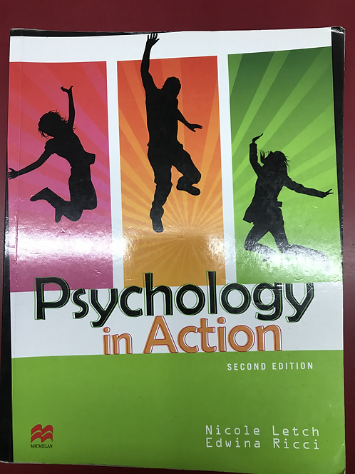 Psychology in Action 2E (SECOND HAND)