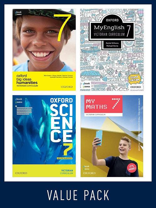 Oxford Value Bundle Victorian Curriculum Year 7 2020 (PRINT + DIGITAL)