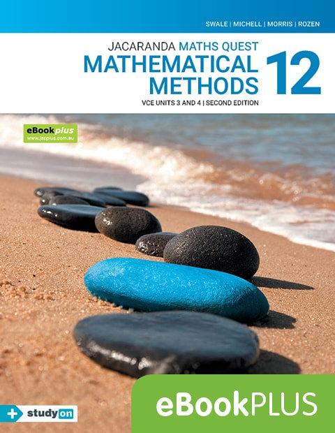 Jacaranda Maths Quest 12 Mathematical Methods VCE U3&4 2E eBookPLUS (DIGITAL)