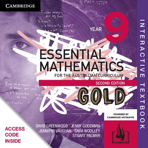 Essential Mathematics GOLD for the Australian 9 2E Interactive Text (DIGITAL)