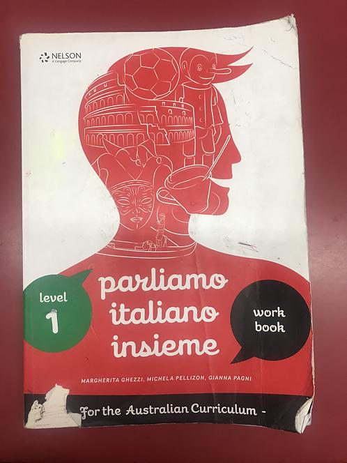 Parliamo Italiano Insieme 1 Workbook (SECOND HAND)
