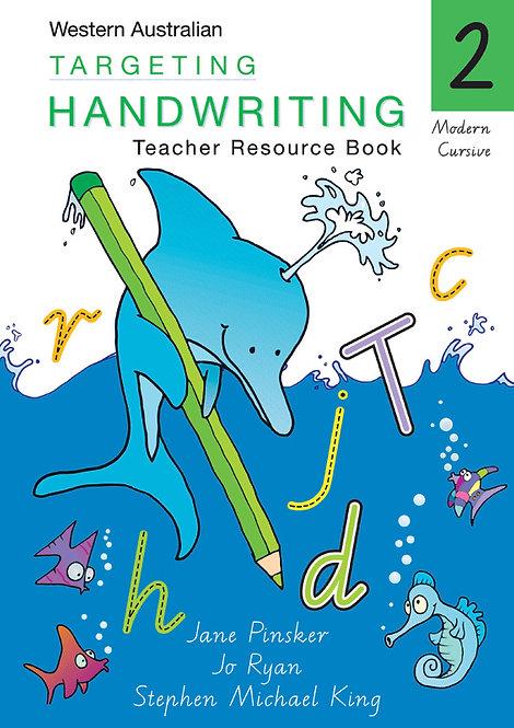 Targeting Handwriting Western Australia Teacher Resource Book Year2