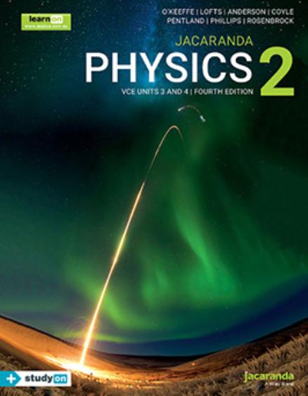 Physics 2 VCE Units 3&4 & eBookPLUS + StudyOn 4E (PRINT +DIGITAL